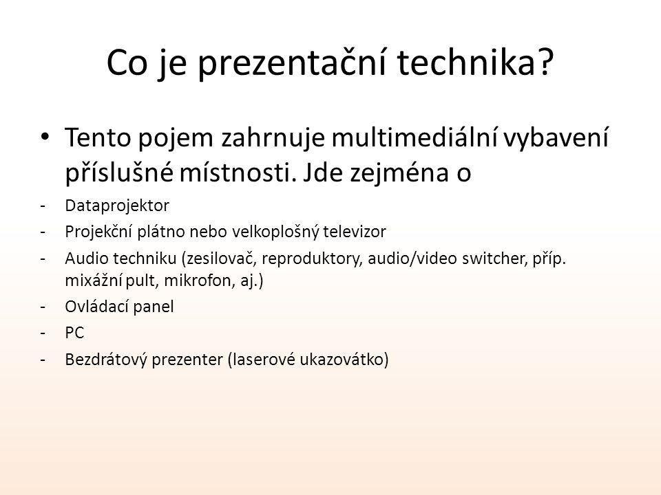 Co je prezentační technika
