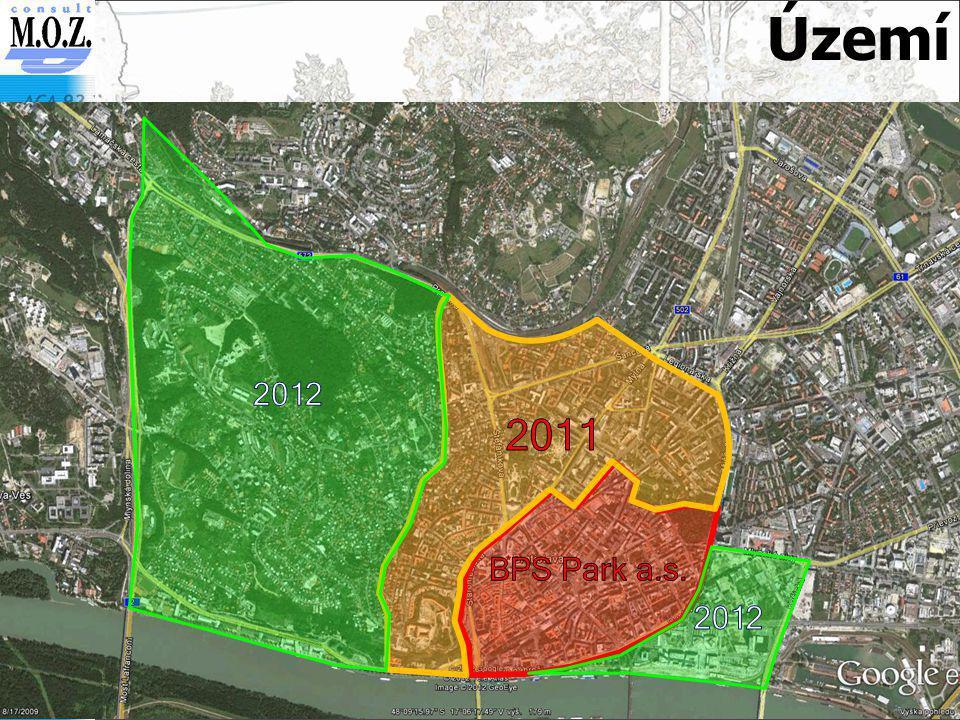 Území 2012 2011 BPS Park a.s.