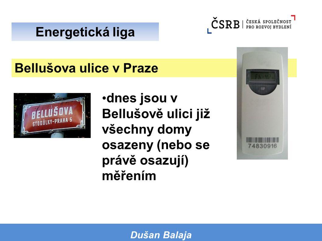 Bellušova ulice v Praze
