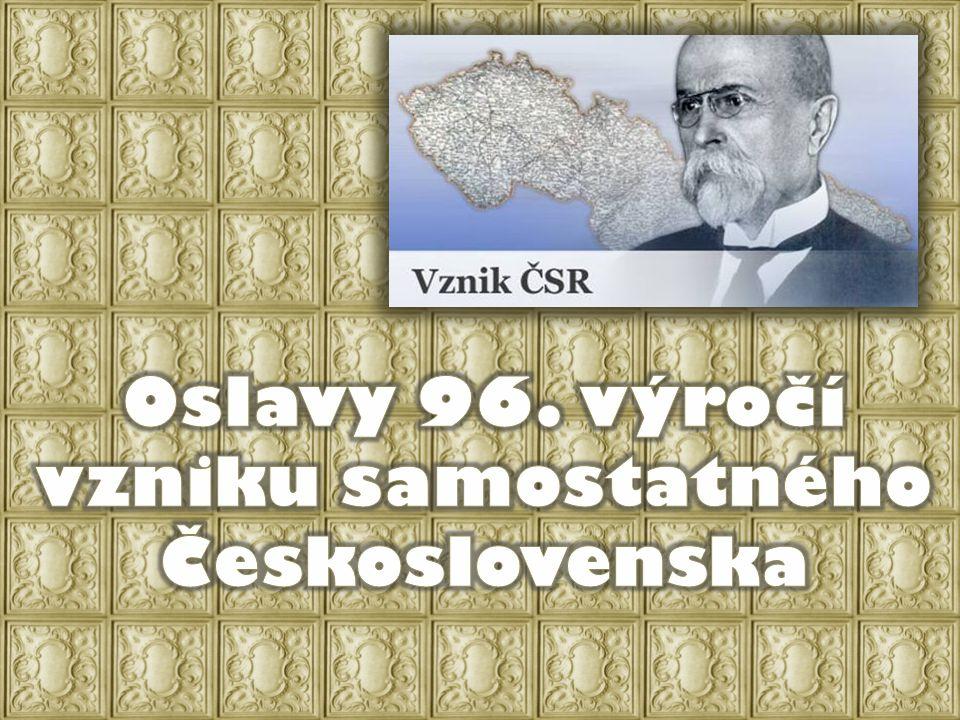Oslavy 96. výročí vzniku samostatného Československa