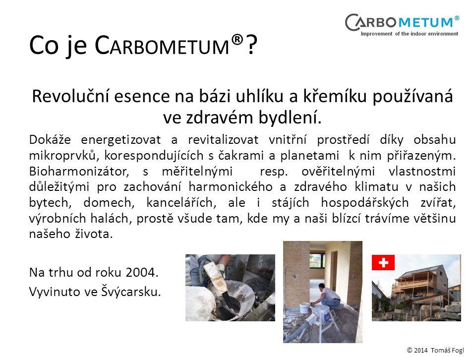 Co je CARBOMETUM® Revoluční esence na bázi uhlíku a křemíku používaná ve zdravém bydlení.