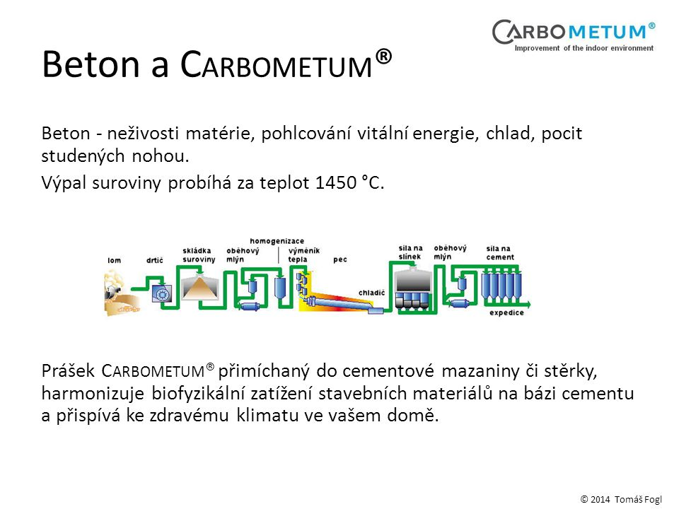 Beton a CARBOMETUM®