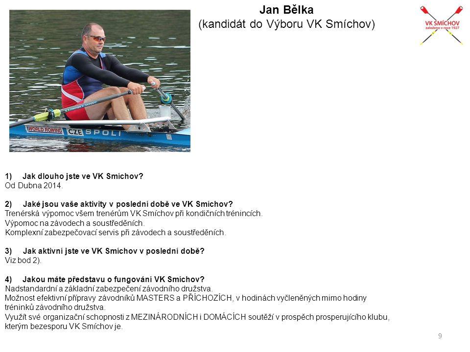 Jan Bělka (kandidát do Výboru VK Smíchov)