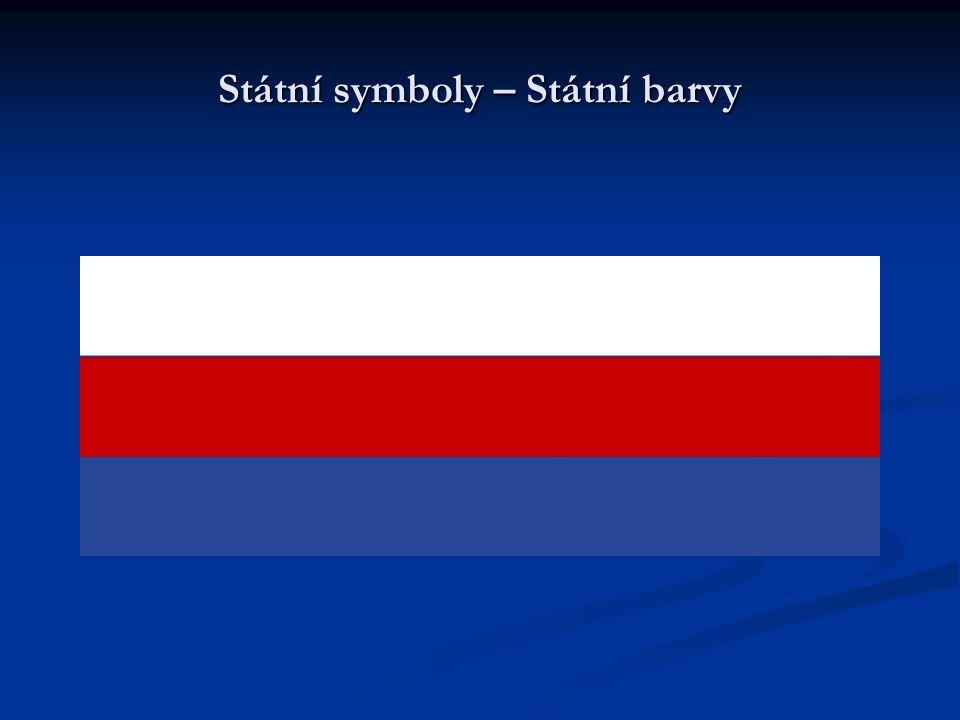 Státní symboly – Státní barvy