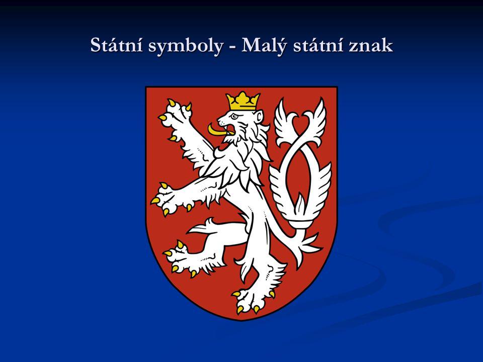 Státní symboly - Malý státní znak