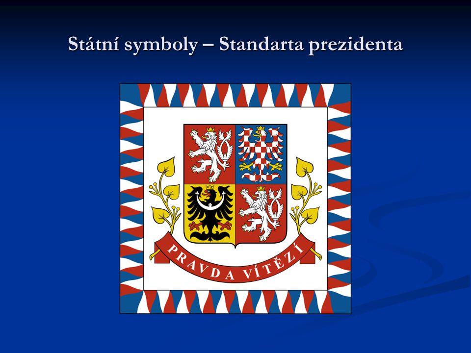 Státní symboly – Standarta prezidenta