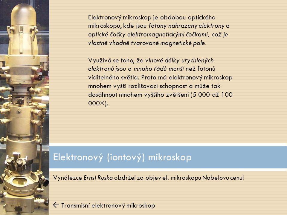 Elektronový (iontový) mikroskop