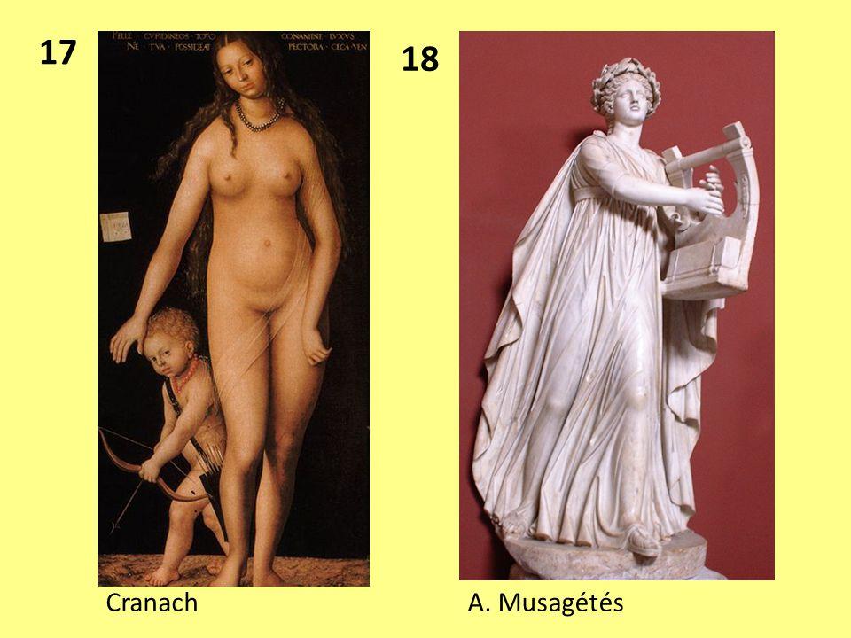 17 18 Cranach A. Musagétés