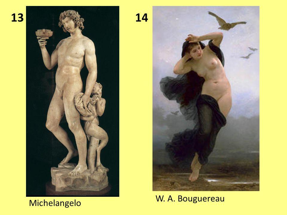 13 14 W. A. Bouguereau Michelangelo
