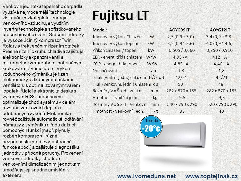 Fujitsu LT www.ivomeduna.net www.toptejinak.cz