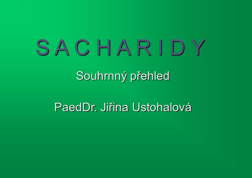 PaedDr. Jiřina Ustohalová