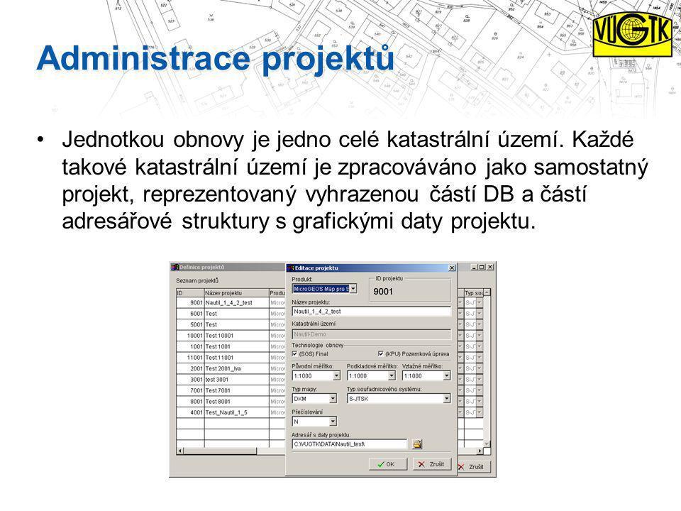 Administrace projektů