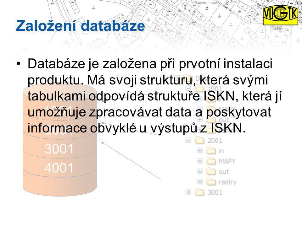 Založení databáze