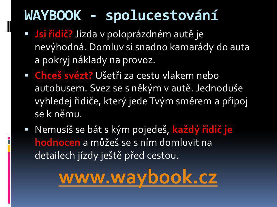 WAYBOOK - spolucestování