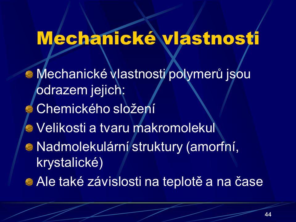 Mechanické vlastnosti
