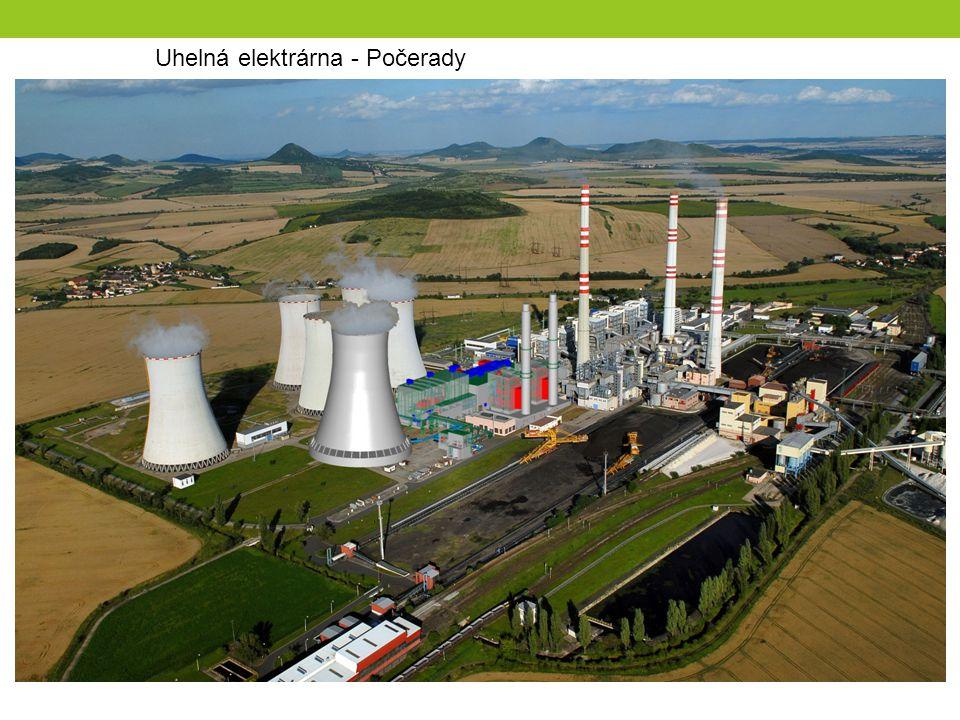 Uhelná elektrárna - Počerady
