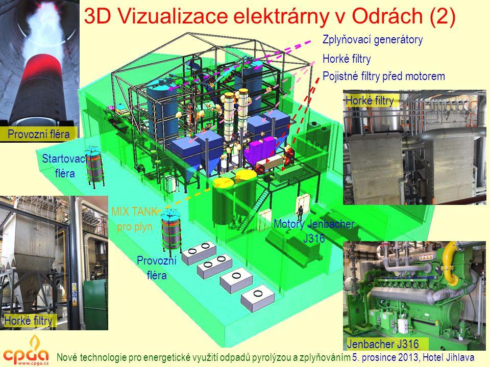 3D Vizualizace elektrárny v Odrách (2)