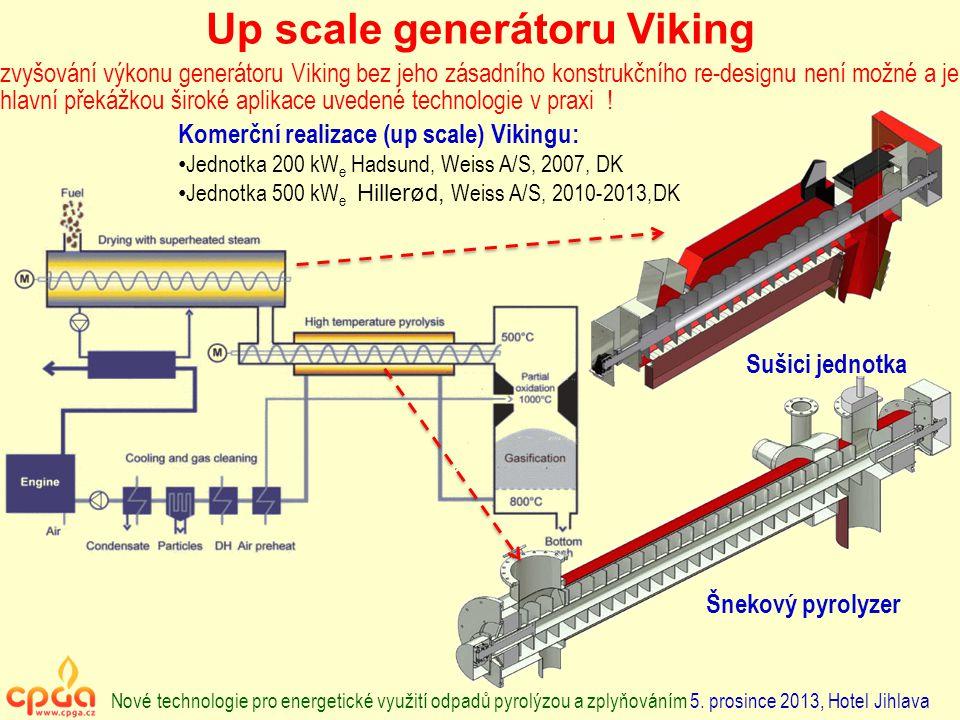Up scale generátoru Viking