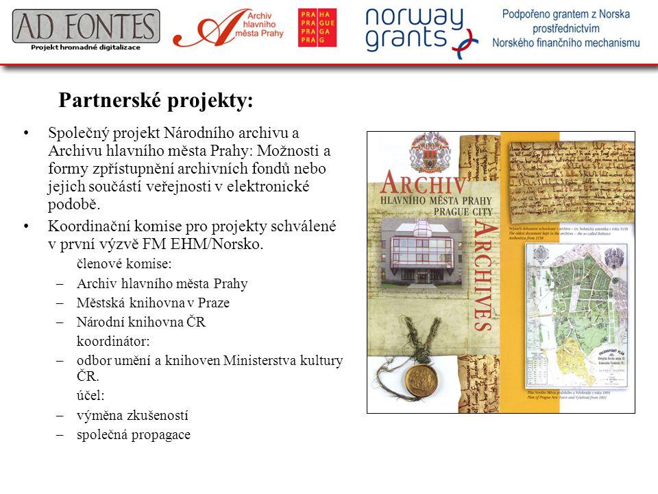 Partnerské projekty: