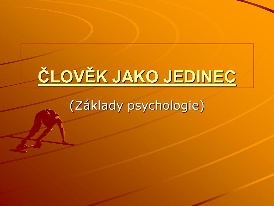 (Základy psychologie)