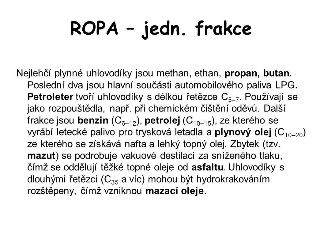 ROPA – jedn. frakce