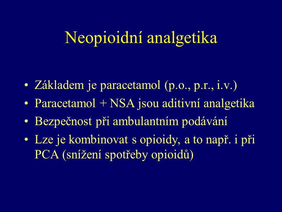 Neopioidní analgetika