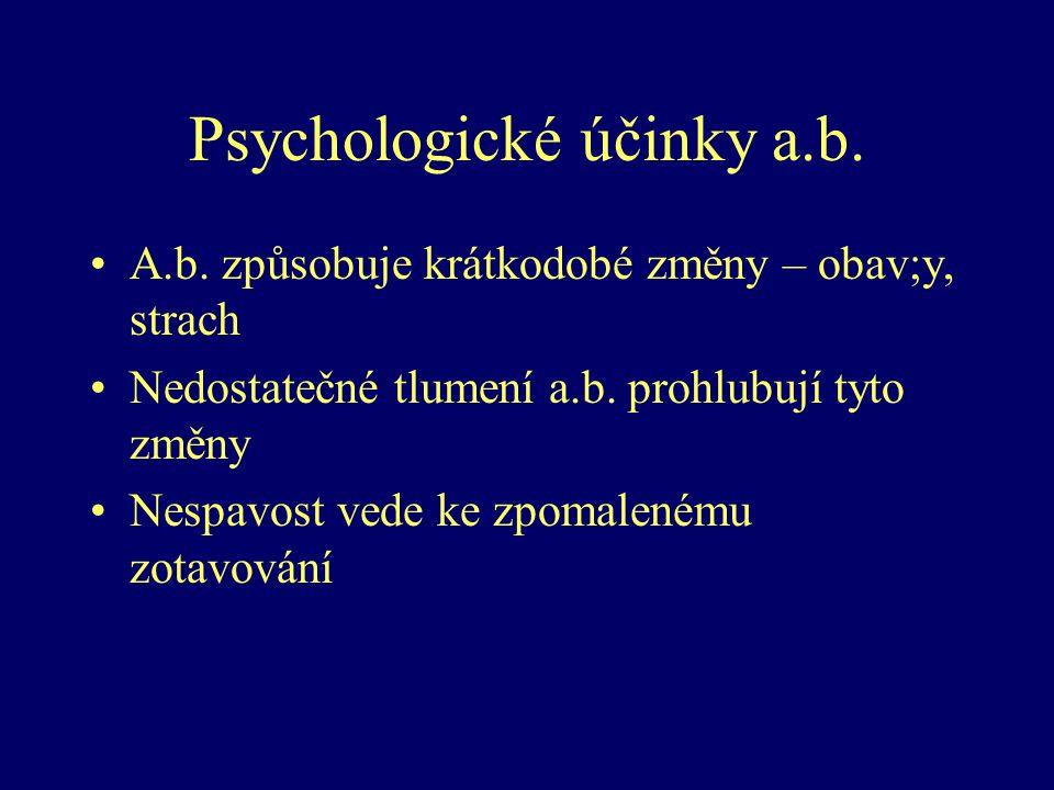 Psychologické účinky a.b.
