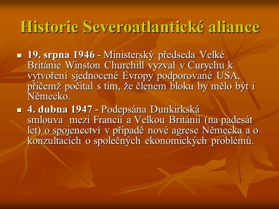 Historie Severoatlantické aliance