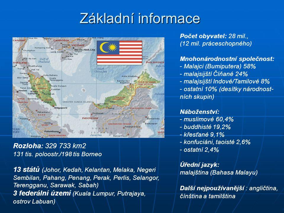 Základní informace Rozloha: 329 733 km2
