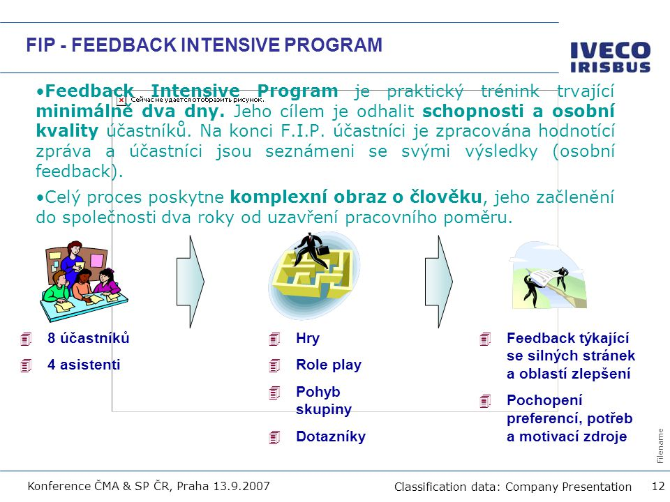 FIP - FEEDBACK INTENSIVE PROGRAM