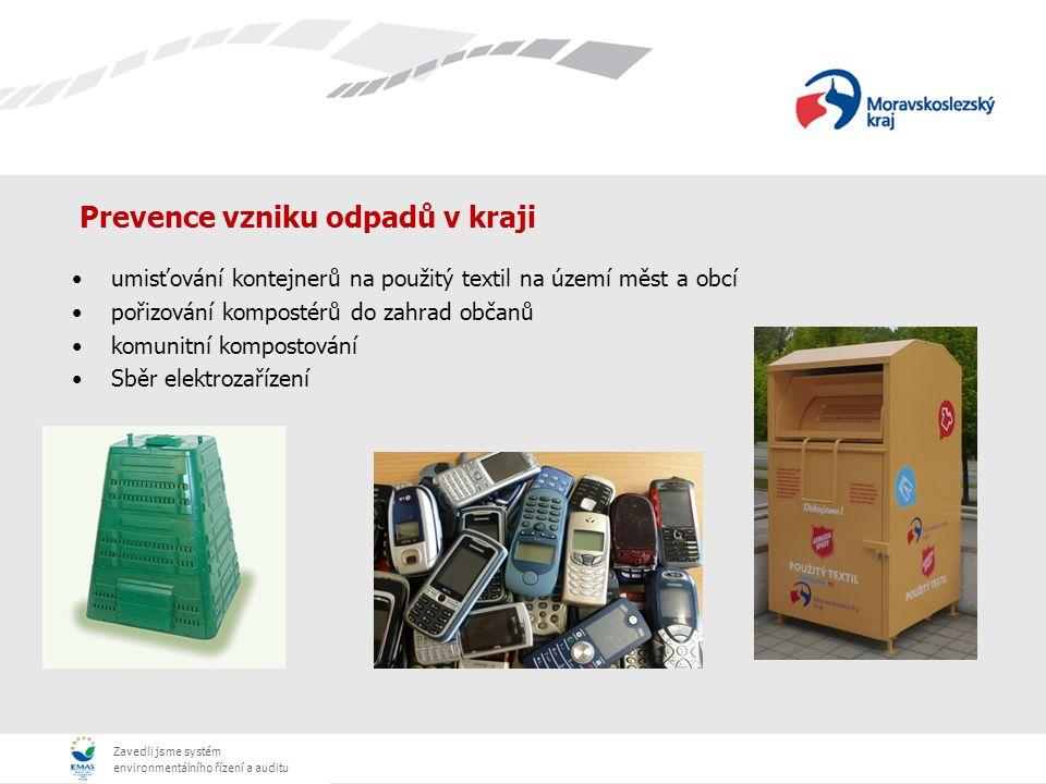 Prevence vzniku odpadů v kraji