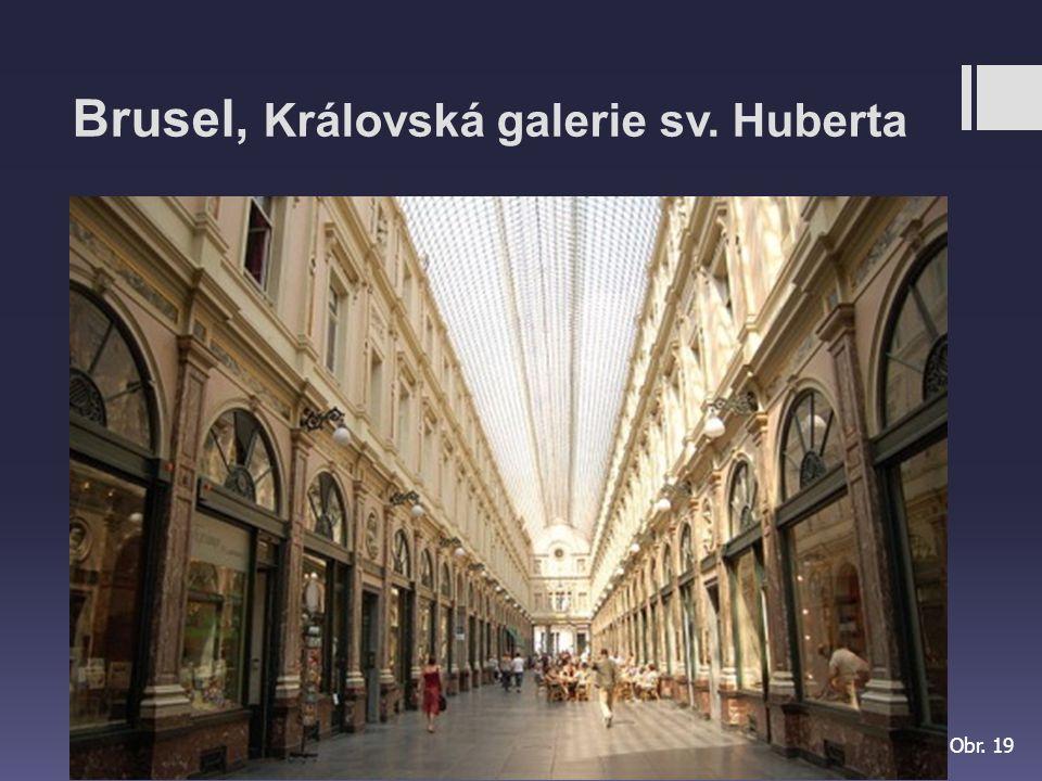 Brusel, Královská galerie sv. Huberta
