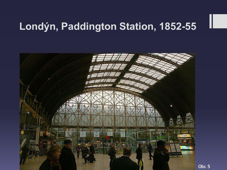 Londýn, Paddington Station, 1852-55
