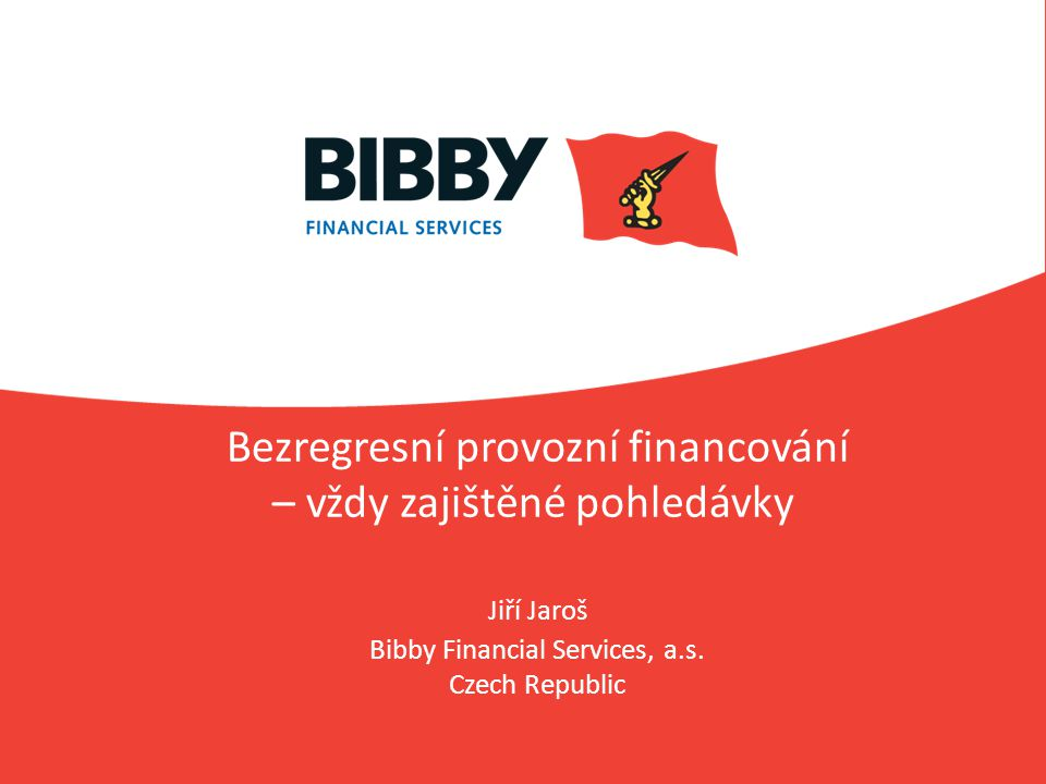 Bibby Financial Services, a.s. Czech Republic