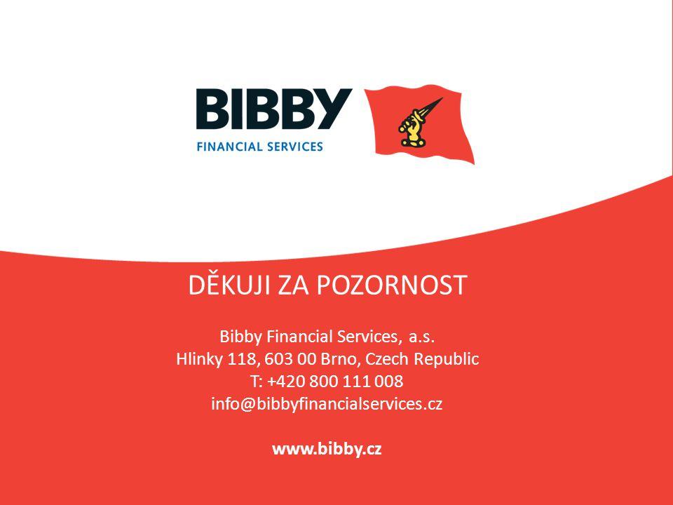 DĚKUJI ZA POZORNOST Bibby Financial Services, a. s