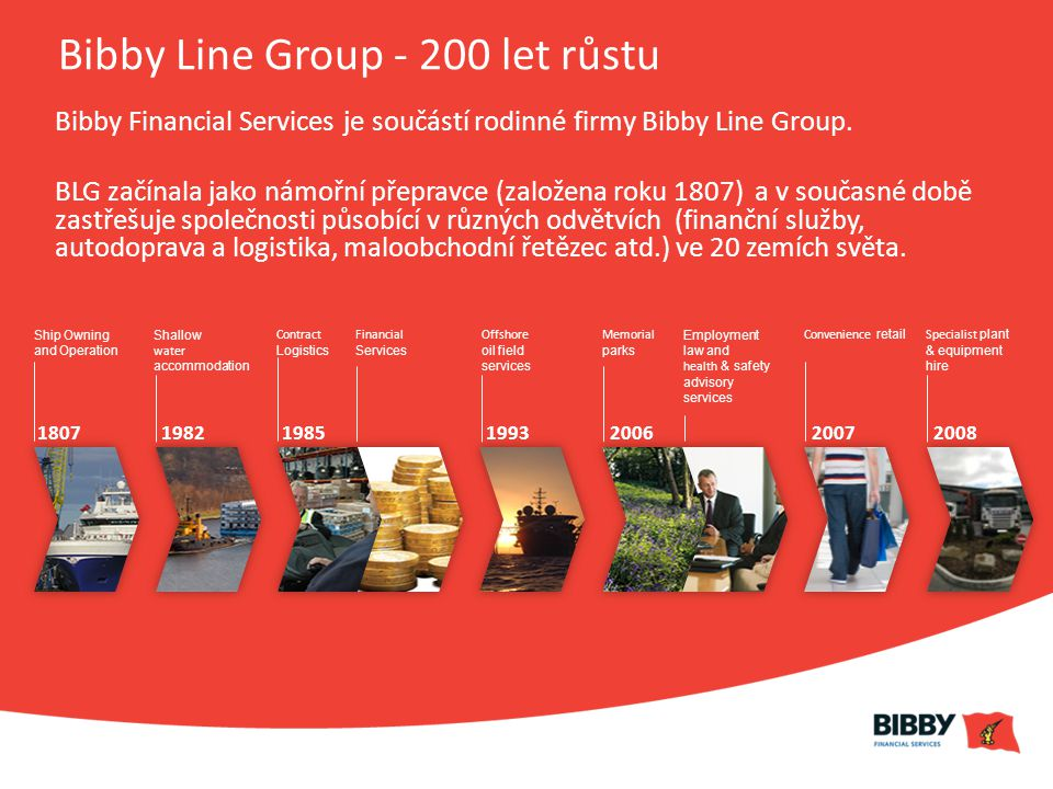 Bibby Line Group - 200 let růstu