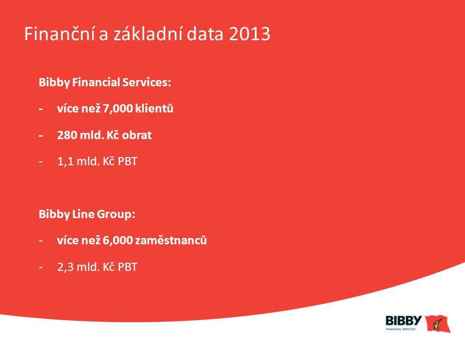 Finanční a základní data 2013