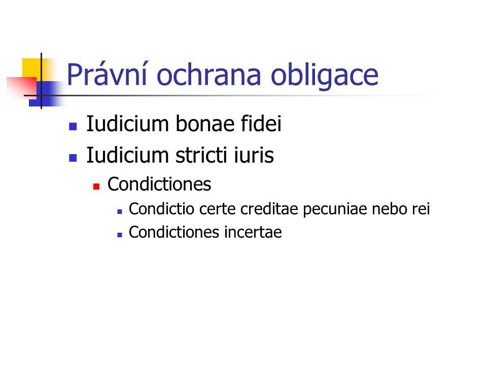 Právní ochrana obligace
