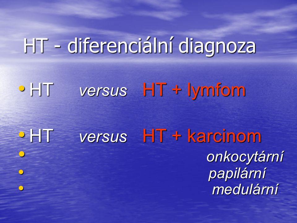 HT - diferenciální diagnoza