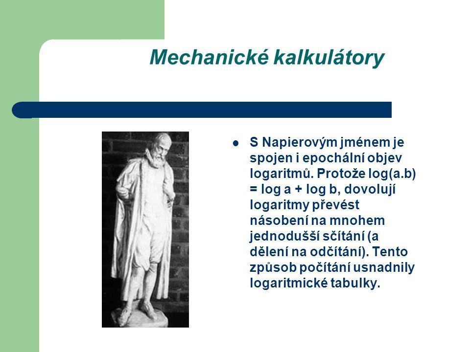 Mechanické kalkulátory