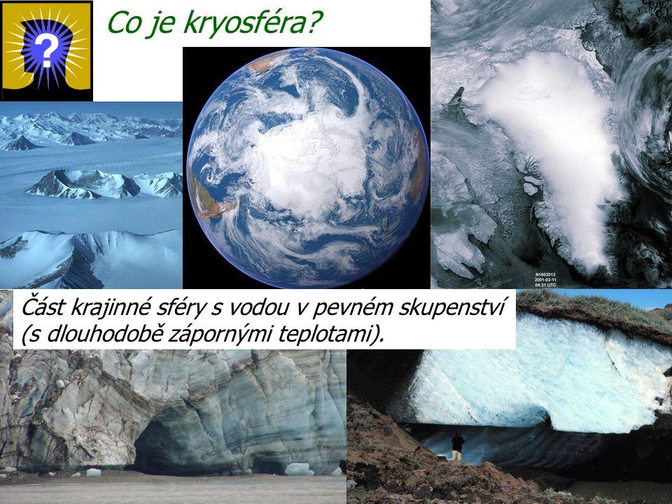 Co je kryosféra.