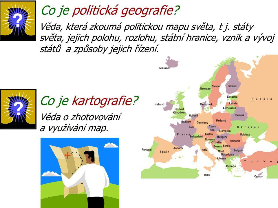 Co je politická geografie