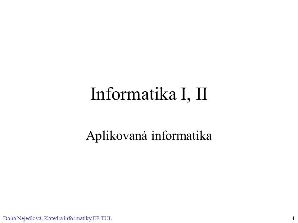 Aplikovaná informatika