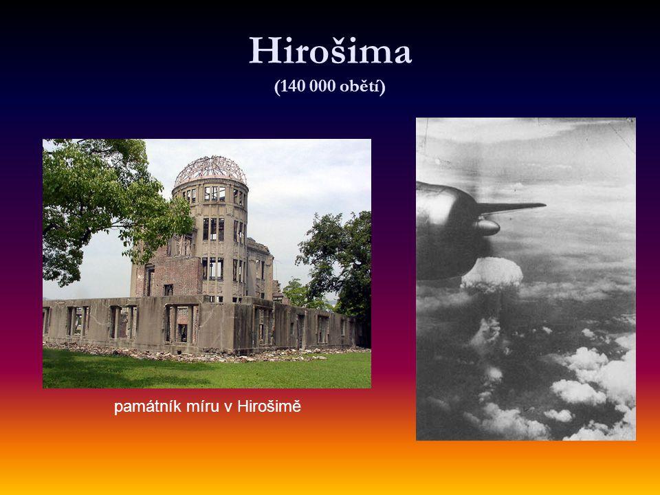 památník míru v Hirošimě