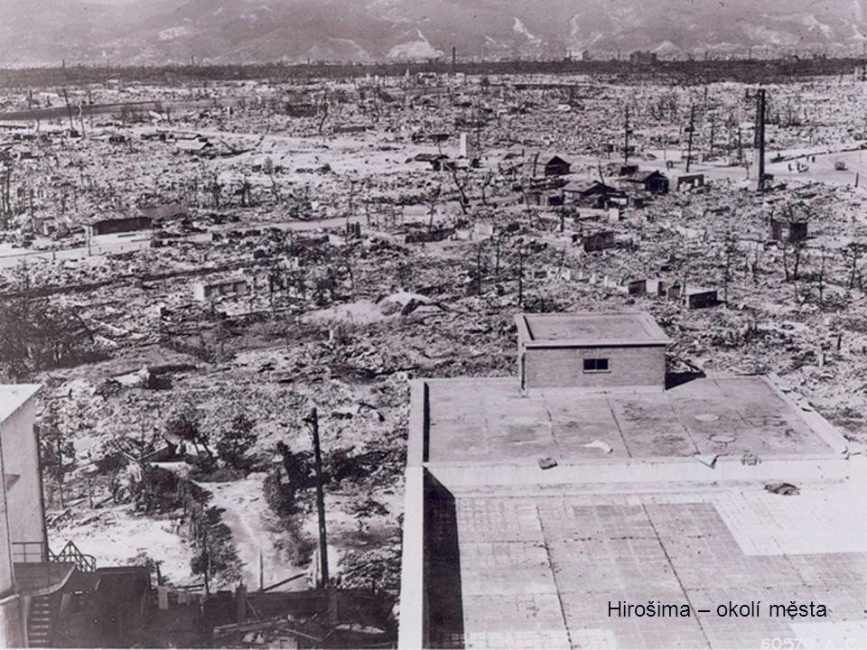 Hirošima – okolí města