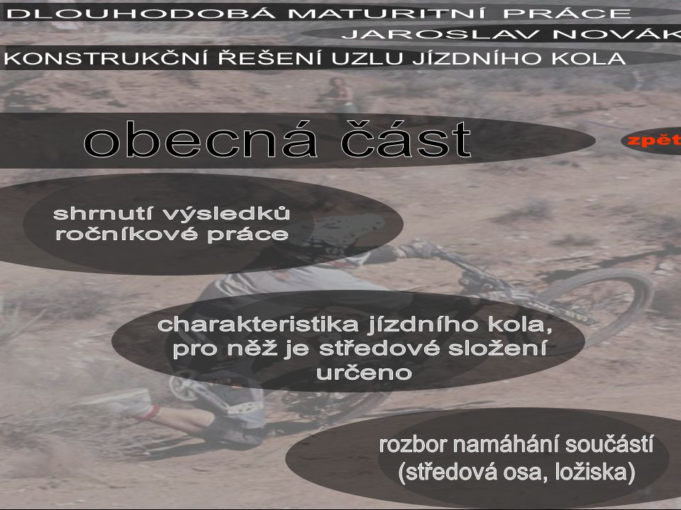 DLOUHODOBÁ MATURITNÍ PRÁCE JAROSLAV NOVÁK