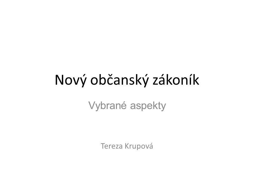 Vybrané aspekty Tereza Krupová