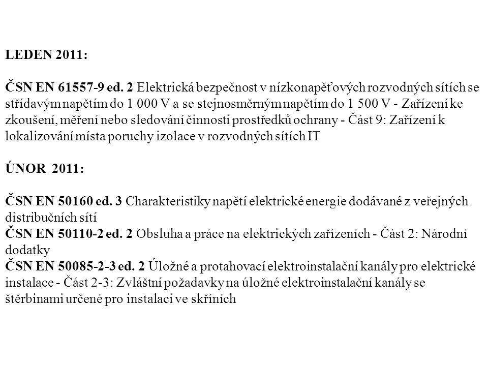 LEDEN 2011: