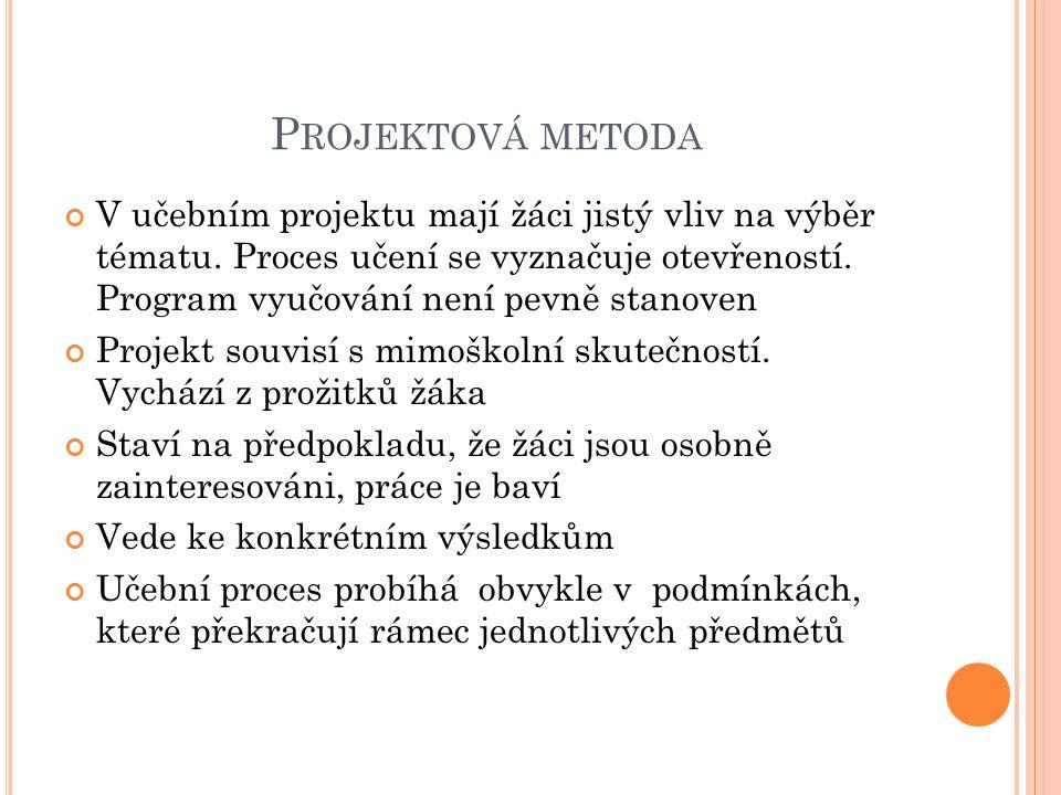 Projektová metoda
