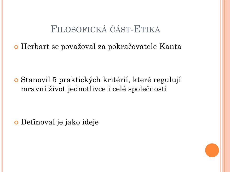 Filosofická část-Etika